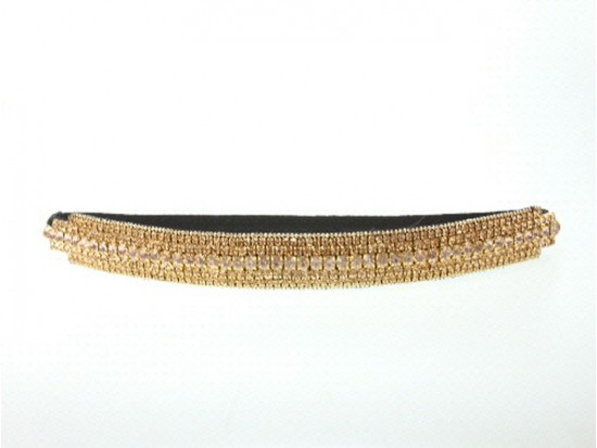 LCT Crystal Multi Line Stretch Headband