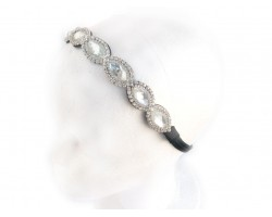 Crystal Marquise Stones Stretch Headband