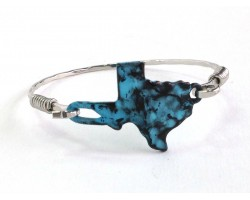 Patina Texas State Map Bangle
