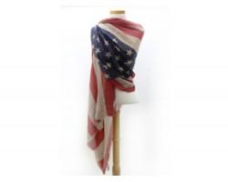 American Flag Oblong Scarf