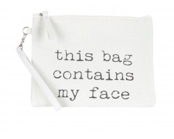 This Bag Contains My Face Mini Accessory Bag