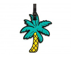 Palm Tree Silicon Luggage Tag