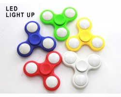 Assorted Color LED Light Fidget Spinners