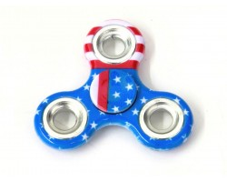 USA Flag Print Fidget Spinners