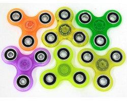 Assorted Neon Color Fidget Spinners