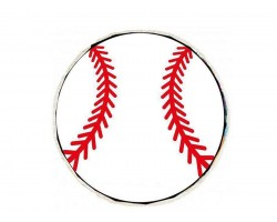 Baseball Round Beach Blanket
