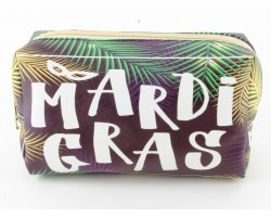 Mardi Gras Vinyl Bag Accessory