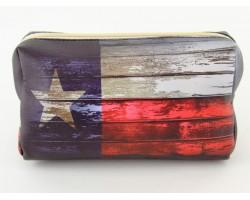 Texas Flag Distressed Vinyl Bag Accessory