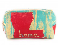 Louisiana State Map Home Vinyl Bag Accessory