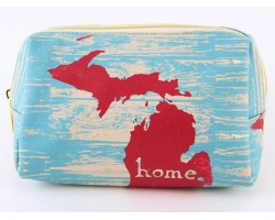Michigan State Map Home Vinyl Bag Accessory