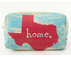 Texas State Map Home Vinyl Bag Accessory