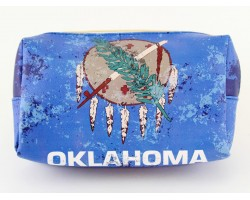 Blue Indian Oklahoma Vinyl Bag Accessory