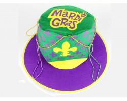 Mardi Gras Fleur De Lis Party Hat