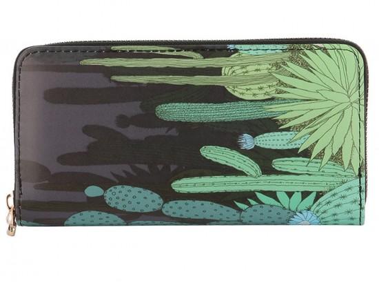 Multi Cactus Zipper Wallet