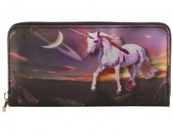 Multi Unicorn Zipper Wallet