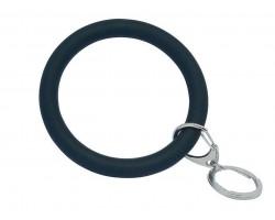 Black Silicon Bangle Key Chain