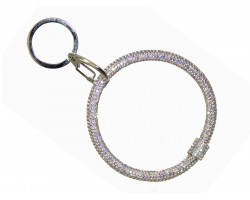 AB Crystal Bangle Key Chain