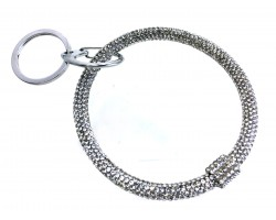 Clear Crystal Bangle Key Chain