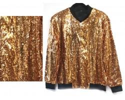 Gold Sequin Jacket