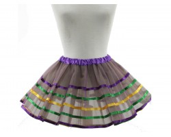 Mardi Gras Stripe Tutu Dress