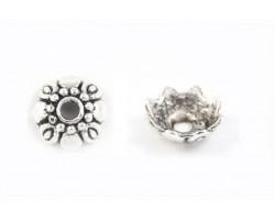 8 Petal Design Daisy Flower Bead Cap