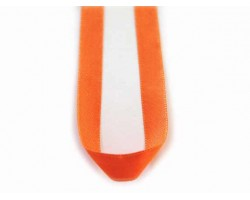 "16"" Orange Satin Ribbon Necklace"
