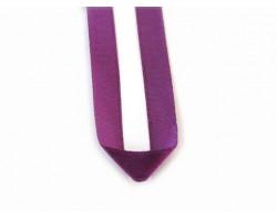 "16"" Purple Satin Ribbon Necklace"
