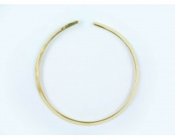 Gold Plate Flat 6mm Wide Choker