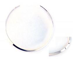 Silver Plate Flat 6mm Wide Choker