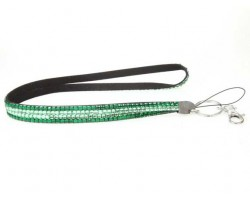 Emerald Peridot Crystal Lanyard For ID Tags or Eyeglasses