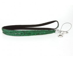 Emerald Crystal Lanyard For ID Tags Or Eye Glasses