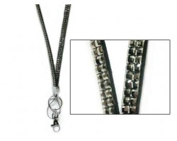 Hematite Crystal Lanyard For ID Tags Or Eye Glasses
