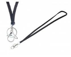 Jet Crystal Lanyard For ID Tags or Eye Glasses