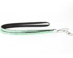 Lime Crystal Lanyard ID Tags or Eye Glasses