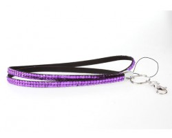 Tanzanite Crystal Lanyard For ID Tags or Eyeglasses