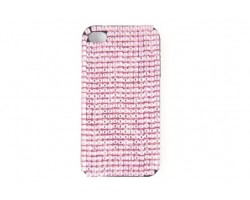 Light Rose Crystal iPhone 4 & 4s Cell Case