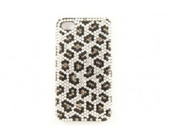 Clear Jet Crystal Leopard iPhone 5 Case