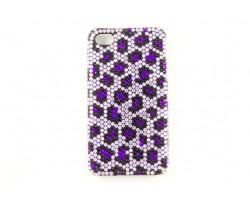 Purple Crystal Leopard iPhone 5 Case