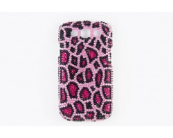 Pink Leopard Crystal Galaxy S III Cell Phone Case