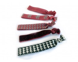 Alabama Theme Stretch Hair Tie 30 pcs