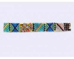 Multi Pattern Seed Bead Headband