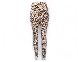Leopard Light Brown Pattern Leggings