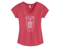 Coffee & Jesus Short Sleeve Shirt