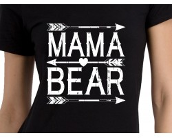 Mama Bear Short Sleeve Shirt