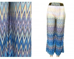Multi Chevron Print Lounge Pants