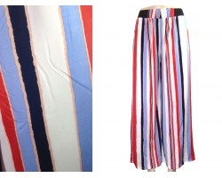 Multi Stripe Pattern Lounge Pants