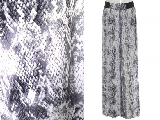 Gray Shades Pattern Lounge Pants