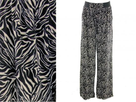 Black White Pattern Lounge Pants