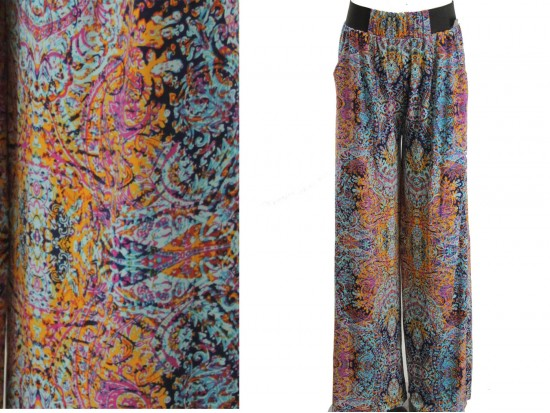 Multi Boho Pattern Lounge Pants