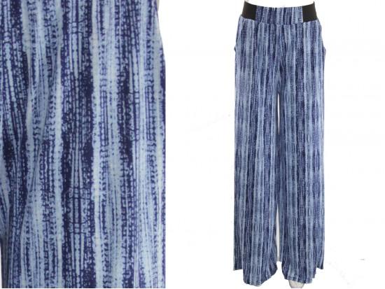 Blue Pattern Lounge Pants